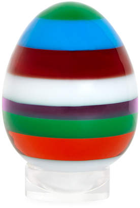 Jonathan Adler Small Stacked Acrylic Egg