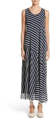 Fuzzi Stripe Maxi Tank Dress