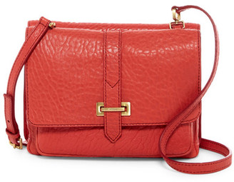 Fossil Maddie Small Leather Crossbody $228 thestylecure.com