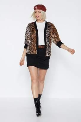 Nasty Gal Meow Should I Know Leopard Cardigan