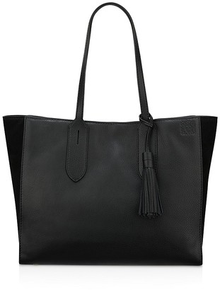 Anne Klein Julia East/West Leather Tote $298 thestylecure.com