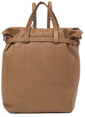 Liebeskind Berlin Belfast Gathered Top Handle Leather Backpack Tote