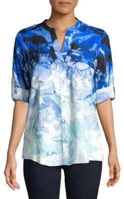 Calvin Klein Floral Button-Down Shirt