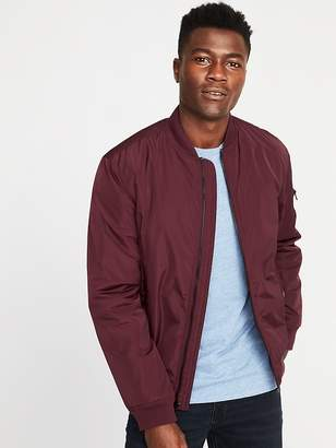 Old Navy Water-Resistant Nylon Bomber Jacket for Men