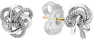 Women's Lagos 'Love Knot' Sterling Silver Stud Earrings $195 thestylecure.com