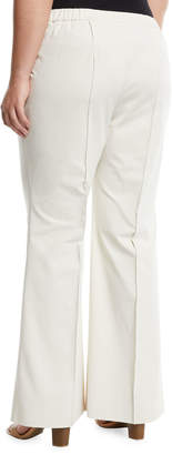 88221b3f0db Lafayette 148 New York Kenmare Flare-Leg Cotton-Stretch Pants