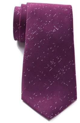 Calvin Klein Splatter Neat Silk Tie