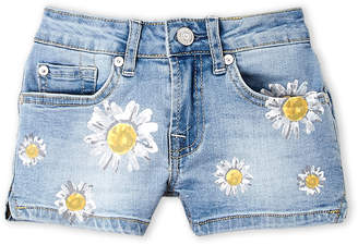 7 For All Mankind Girls 7-16) Daisy Print Denim Shorts