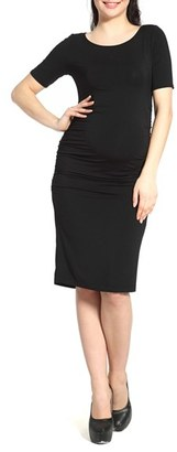 Women's Kimi And Kai Demi Ruched Body-Con Maternity Dress $62 thestylecure.com