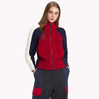 Tommy Hilfiger High Neck Zip Sweater