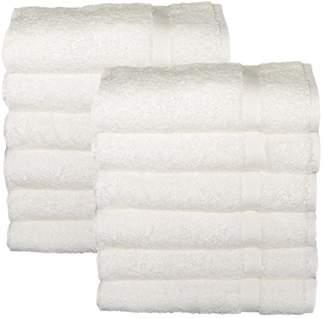 HomeLabels Cotton Salon Towels - Gym Towel Hand Towel - (12-Pack
