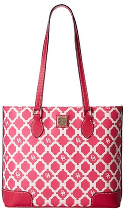 Dooney & Bourke Sanibel Canvas Richmond Shopper $228 thestylecure.com