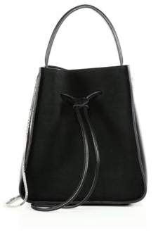 3.1 Phillip Lim Soleil Leather Drawstring Bucket Bag