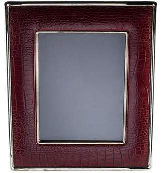 Ralph Lauren Embossed Leather Picture Frame