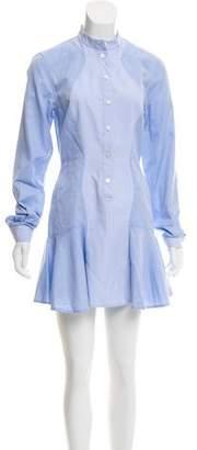 Stella McCartney Long Sleeve Mini Shirtdress