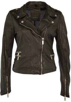 MAURITIUS - Women's Hera Leather Jacket - Black