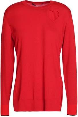 Proenza Schouler Cutout Cotton-Blend Sweater