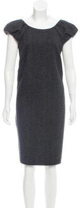 Dolce & Gabbana Knee-Length Wool Dress