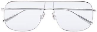 Ambush aviator clear-lens sunglasses