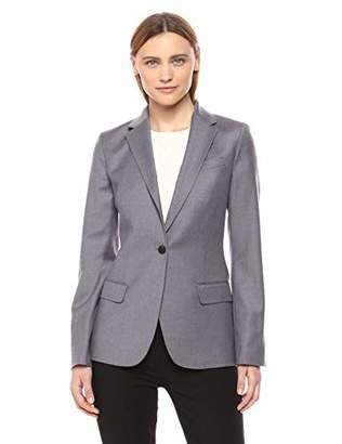 Theory Women's Single Button Staple Blazer