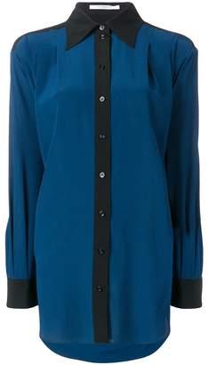 Givenchy colour block long shirt