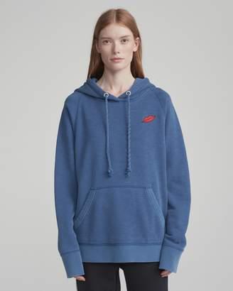 Rag & Bone Graphic racer hoodie