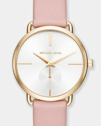 Michael Kors Portia Blush Chronograph Watch
