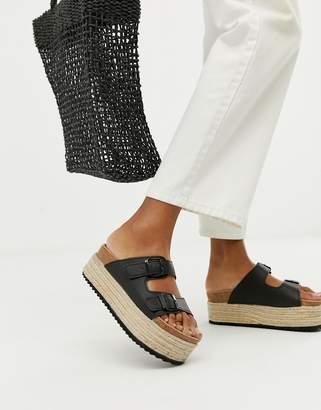 Xti flatform espadrille sandals