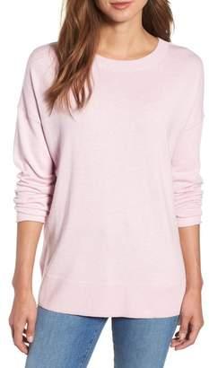 Caslon V-Back Sweater (Regular & Petite)
