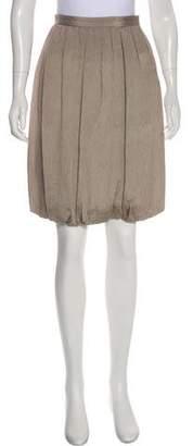 Giorgio Armani Pleated Bubble Skirt