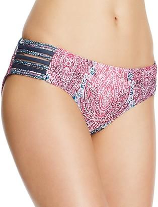 Lucky Brand Midnight Paisley Bikini Bottom $58 thestylecure.com