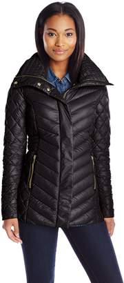 Badgley Mischka Belle Women's Hannah Packable Down Jacket