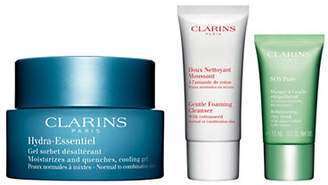 Clarins Three-Piece Hydra Essential Gel Set