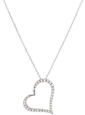 Roberto Coin 18K Diamond Heart Pendant Necklace