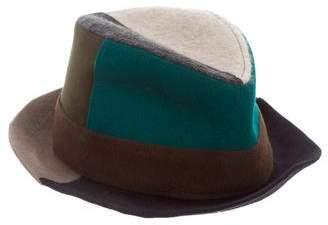 LOLA Cosmetics Patchwork Flannel Hat