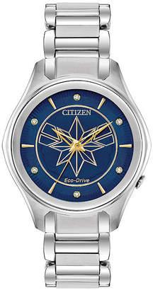 Citizen Marvel Marvel Womens Silver Tone Stainless Steel Bracelet Watch-Em0596-58w