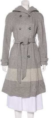 Woolrich Virgin Wool Knee-Length Coat w/ Tags