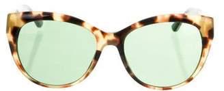 Tory Burch Tortoiseshell Tinted Sunglasses
