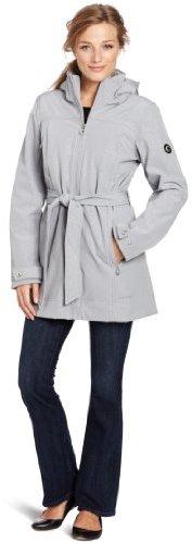 Calvin Klein Women's Hooded Belted So...