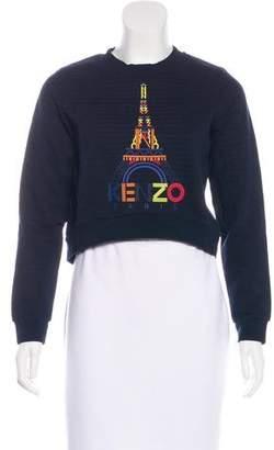 Kenzo Printed Long Sleeve Sweatshirt