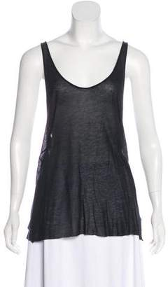 Haider Ackermann Scoop Neck Sleeveless Top