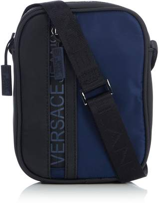 Versace Medium Logo Crossbody Bag
