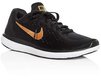 Nike Boys' Flex Lace Up Sneakers - Big Kid