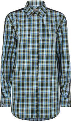 Burberry Haymarket Check Stripe Shirt