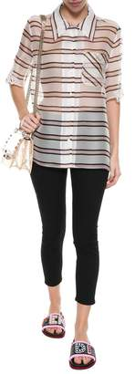 Fendi Oversized Stripe Shirt