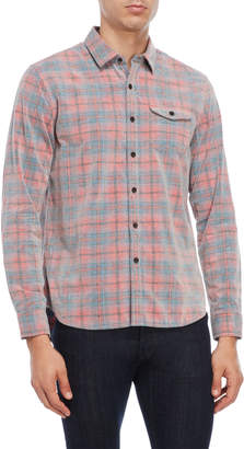 Michael Bastian Plaid Corduroy Shirt