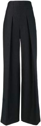 Karl Lagerfeld high waisted sparkle trousers
