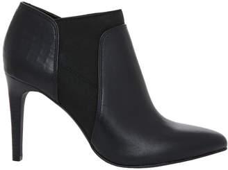 Basque Halle Black Leather/Croc Boot