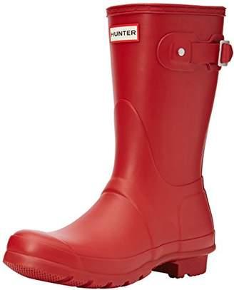 Hunter Short, Women's Wellington Boots, Red (Military Red), 7 UK (40/41 EU)