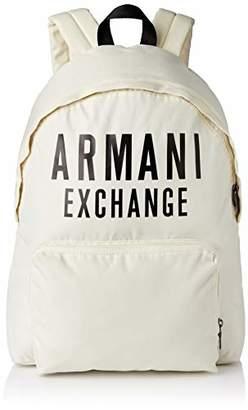 Armani Exchange A|X Men's Oversized Logo Backpack